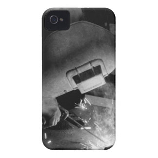 Welder at Work BlackBerry Bold Case-Mate Case-Mate iPhone 4 Cases