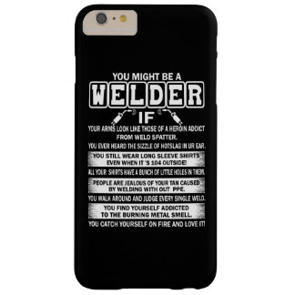 Welder Barely There iPhone 6 Plus Case