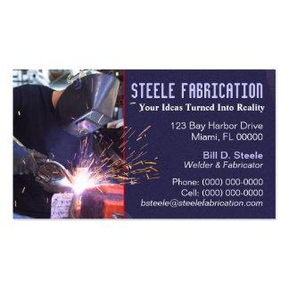 Welder Business Card