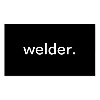 Welder Business Card Templates