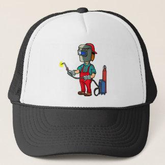 Welder Craftsman Construction Worker Repairman Trucker Hat