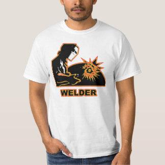 Welder making the sparks fly. T-Shirt