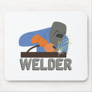Welder Mouse Pad