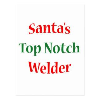 Welder Top Notch Postcard