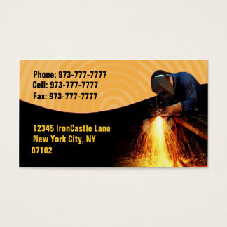 Welders Business Cards