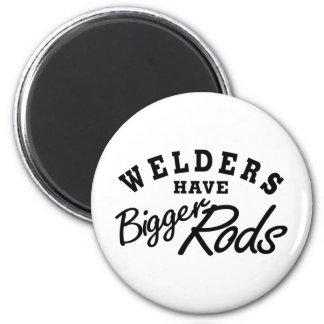 Welders Have... 6 Cm Round Magnet
