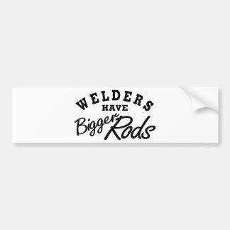 Welders Have... Car Bumper Sticker
