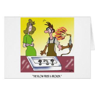Welding Cartoon 6139 Card