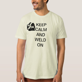 Welding warnings t-shirt