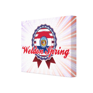 Weldon Spring, MO Gallery Wrapped Canvas