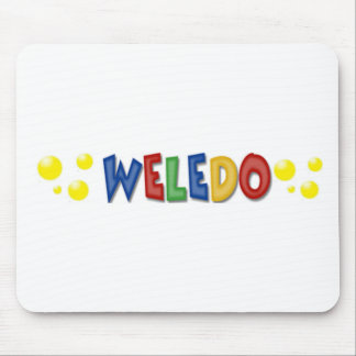 Weledo Gift and Special Items Mouse Pad