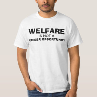 Welfare is Not a Career Opportunity Shirt