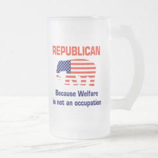 Welfare is not an occupation mug