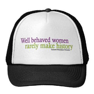 Well Behaved Women  Mesh Hat