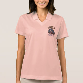 Well behaved women rarely make history, navy polo shirt