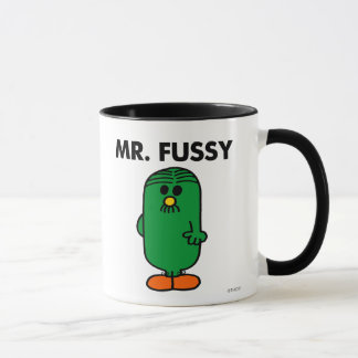 Well-Groomed Mr. Fussy Mug