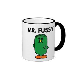 Well-Groomed Mr. Fussy Ringer Mug