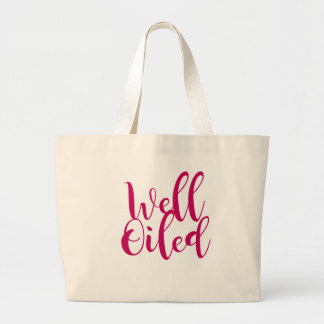 well oiled large tote bag