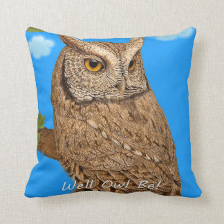 Well Owl Be! Cushion