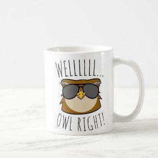 Well Owl Right Coffee Mug