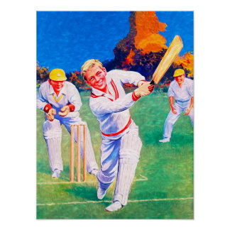 Well Played - Cricket Art On Canvas Print