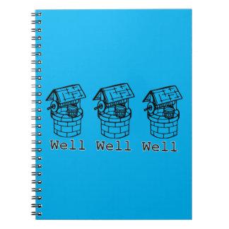 well well well notebook