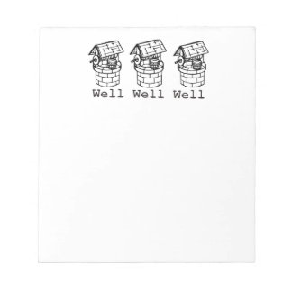 well well well notepad