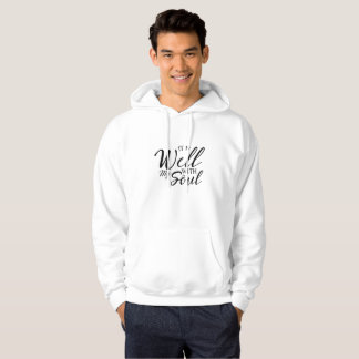 Well With My Soul  Jesus Christian Faith Hoodie