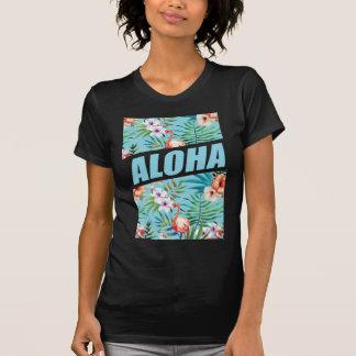 Wellcoda Aloha Hawaii Beach Wild Flamingo T-Shirt