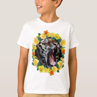 Wellcoda Amazing Tiger Growl Wild Animal T-Shirt