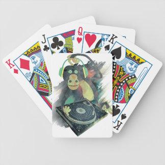 Wellcoda Animal Monkey Music DJ Disco Pop Poker Deck