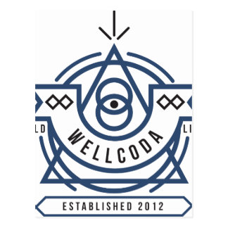Wellcoda Apparel Wild Life Edinburgh UK Postcard