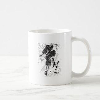 Wellcoda Asian Ninja Warrior Battle Kick Coffee Mug