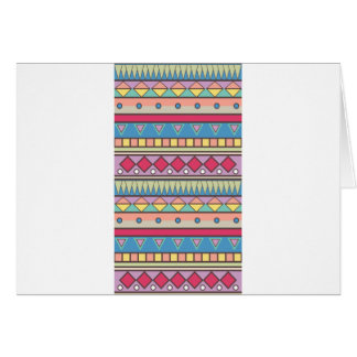 Wellcoda Asian Style Pattern Indian Look Greeting Card