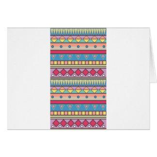 Wellcoda Asian Style Pattern Indian Look Greeting Card