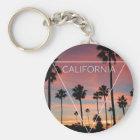 Wellcoda California Palm Beach Sun Spring Key Ring