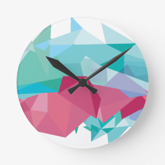 Wellcoda Crazy Abstract Shape Future Life Wall Clocks