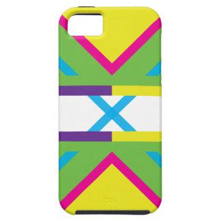 Wellcoda Crazy Fresh Summer USA Rave Beat Tough iPhone 5 Case