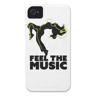 Wellcoda Dance Feel The Music Headphone iPhone 4 Covers