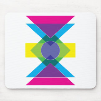 Wellcoda DJ Summer Crazy Vibe Colour Life Mouse Pad