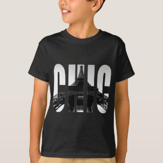 Wellcoda Eiffel Tower Chic Swag Paris Love T-Shirt