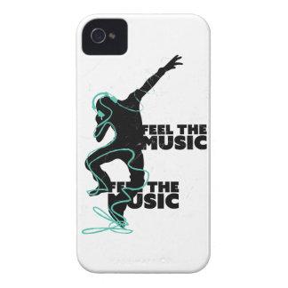 Wellcoda Feel The Music Beat Headphone iPhone 4 Case-Mate Cases