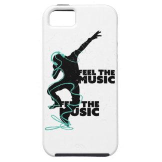 Wellcoda Feel The Music Beat Headphone iPhone 5 Covers