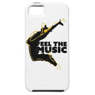 Wellcoda Feel The Music Jump Headphone iPhone 5 Cases