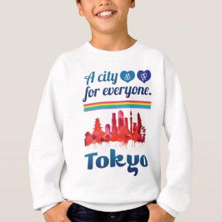 Wellcoda Friendly Tokyo City Japan Urban Sweatshirt