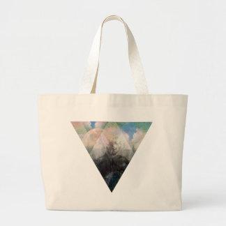 Wellcoda Hipster Nature Cosmos Fantasy Large Tote Bag