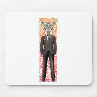 Wellcoda Human Body Beast Head Suite Up Mouse Pad