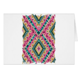 Wellcoda Indian Style Clothing Crazy Life Greeting Card