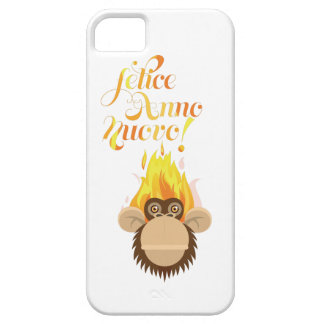 Wellcoda Italian New Year Wish Celebrate Barely There iPhone 5 Case