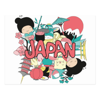 Wellcoda Japan Culture Asia Parade Life Postcard